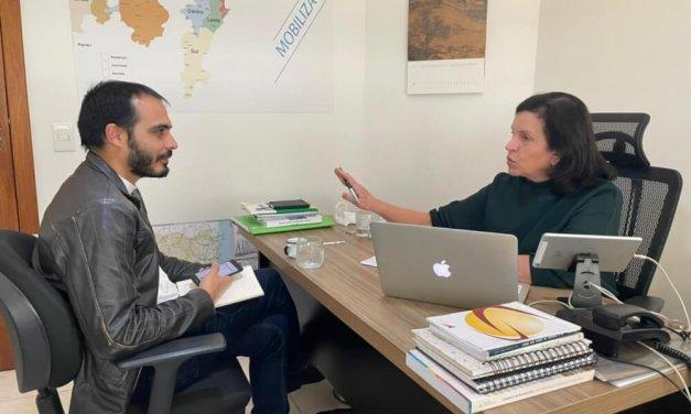 """Conversa em dia com Angela Amin, deputada federal: """"Nosso partido foi destruído em Florianópolis"""""""