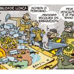 Charge do Galvão – Governabilidade lúdica