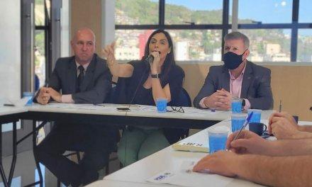Psdb de SC joga para frente debate sobre Dória ou Leite; Gean e Schiochet quebram gelo sobre Pslcratas