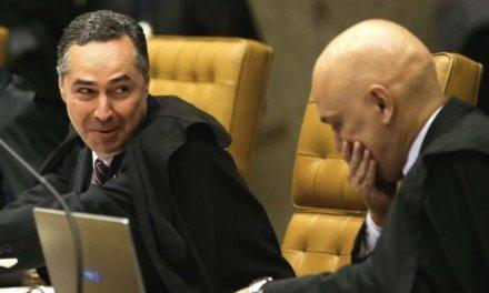 """A revanche do Stf: chamado de """"farsante"""" por Barroso, Bolsonaro fala por telefone com Moraes"""