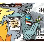 Charge do Galvão – Circo na CPI